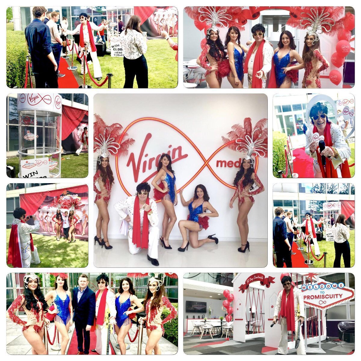 BRAND ACTIVATION EVENT FOR VIRGIN MEDIA